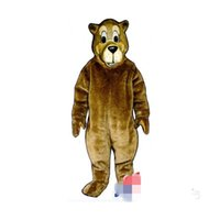 Wholesale Cartoon Character Costume Bear - Customized Brown bear Mascot Costume Cartoon Character Fancy Dress Adult Outfit