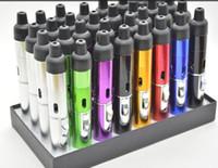 Wholesale Mini Torches Lighters - 2016Sneak A Vape Click N Vape Mini Herbal Vaporizer Smoking Pipe Touch Flame Lighter Butane Smoke Torch Jet Flame Lighter