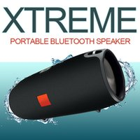 Wholesale Speaker Crystal - Xtreme waterproof speakers wireless mini bass bluetooth subwoofer built-in 4400 mAh rechargeable battery crystal clear for android ios