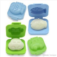 Wholesale Egg Rice Mould - Egg Rice Sushi Mold Bento Maker Sandwich Cutter Decorating Mould Free Shipping