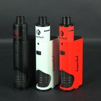 Wholesale E Cigarette 1pcs - 1Pcs OK!! Kanger new premium products vape rechargeable battery for Kanger Dripbox Starter Kit liquid thc e cigarette 60W for sale vape