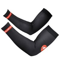 Pro Team 1pair Bike Arm Warm Kit Cycling Arm Warmers Bicycle Riding Arm Sleeve Cover Vente en gros Livraison gratuite