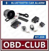 Wholesale Code Alarm System - 2017 Newest Arrival Bluetooth Control Car Alarm Vehicle Bluetooth PKE Car Alarm Arming SOS Car Alarm System with Learning Code