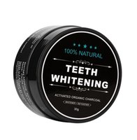 Wholesale Dental Kits Wholesale - Teeth Whitening Scaling Powder Bamboo Oral Teeth Care Cleaning Activated Charcoal Tooth Powder Clareamento Dental gift
