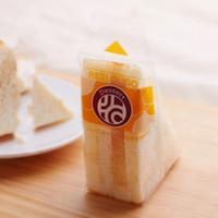 bread packaging venda por atacado-Sacos de cozimento plásticos de empacotamento transparentes completos do pão de sanduíche dos sacos de sanduíche que empacotam 100Pcs / lot