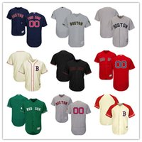 Wholesale Hot Sox Sale - Hot sale Customized Cheap Men's Boston Red Sox Jersey Green Cream White Gray Red Personalized Custom any name any number size S-5XL