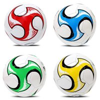 Wholesale Soccer Ball Size PU Material Football for Training for Adult S003 Colors