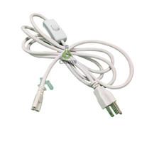 conector de cable led al por mayor-cable accesorio led cable t8 t5 2 pies 3 pies 4 pies 5 pies 6 pies para T8 T5 integrado luces led tubos Conector CE ROHS UL DLC