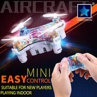 Wholesale Mini Helicopter Batteries - Cheerson CX-10D 4CH 6Axis Mini Drone Phone WIFI 0.3MP Camera Battery Protection Module Helicopter Height Hold LED Light