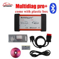 Wholesale New Tcs Cdp Pro Plus - Wholesale- come with plastic box 2015.r3 New design TCS CDP PRO CAR+TRUCK multidiag Pro Plus with Bluetooth with free DHL shipping!