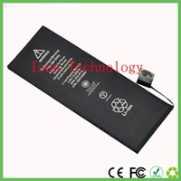 Wholesale Replacement Paper - for 5S 5C battery real capacity 1560mAh stable 3.8V 5.45Wh replacement batteria with paper box free shipping