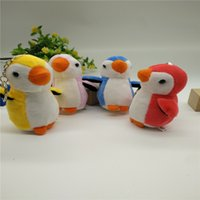 Wholesale Plush Blue Penguin - New little penguin plush toy doll doll penguin hang wedding celebration scatters small gifts wholesale