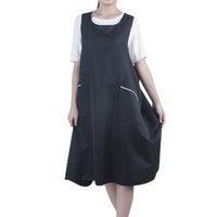 Wholesale Plus Size Aprons - hair cutting apron 1 Pcs Plus Size Black Salon Hairdressing Hair Cutting Apron Cape for Barber Hairstylist Practical Hairdressing Cloth