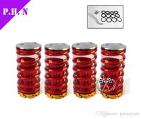 Wholesale Honda Civic Suspensions - Forged Aluminum Coilover Kits for Honda Civic 88-00 Red available Coilover Suspension   Coilover Springs