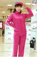 Wholesale Cardigan Women Outfit - M-3XL brand suit men women sport tracksuit casual outfit sport suit fashion brand jacket and pants.