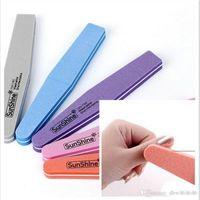 Wholesale Christmas Nail Files - Nail Buffer Christmas nail file sponge Manicure Tool nail cleaning tools Moq 100 Pcs FRee shipping