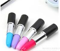 Wholesale Lipstick Ballpen - novelty stationery ballpoint pen scalable simulation modeling lipstick pens stationery school office writing ballpen