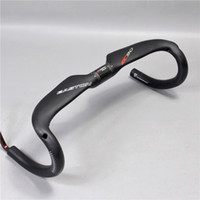 Wholesale Carbon Fiber Road Handlebars - 2017 easton ec90 Carbon fiber cicycle handlebar AERO road cycling bike parts handlebar 31.8mm *400 420 440mm drop bent bar matte