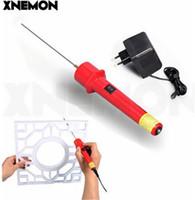 Wholesale Foam Cutter Machine - XNEMON Electric Hot Knife Wax Cutting Foam Cutter Hot Wire Styrofoam Craft Tool 220V Cutting Pen Machine Foam Cutting Pen