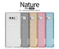 Wholesale Nillkin Cover Case - Cover For Samsung Galaxy Note 8 Case For Samsung Galaxy Note 8 Note8 Nillkin Nature TPU Soft case Transparent Clear Back Cover