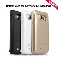 Wholesale Galaxy Note Case Battery Backup - 4200mAh External Battery Charger Power Supply Backup Power Case For Samsung Galaxy S6 Edge Plus   Samsung Galaxy Note 5