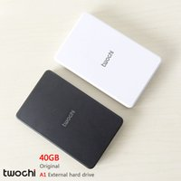 Wholesale 2tb Portable Hard Drive - Wholesale- Free shipping New Styles TWOCHI A1 Original 2.5'' External Hard Drive 40GB Portable HDD Storage Disk Plug and Play On Sale