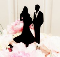Wholesale Cards Life - The new European wedding acrylic cake inserted card Elegant wedding decoration The continuation of life cake topper