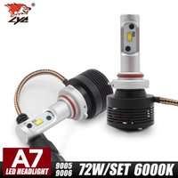 Wholesale Spare Parts Led Lighting - Auto spare parts car 12V 36W 4800LM TX Chip high low beam IP68 waterproof high power led headlight bulb h7
