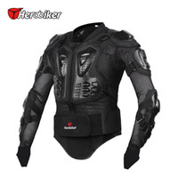 Wholesale Motorcycle Riding Armor Jacket - HEROBIKER Motocross Off-Road Racing Jacket Guard Motorcycle Riding Armor Body Protector Extreme Sport Protective Gear Accessorie