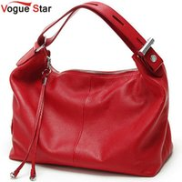 Wholesale Classic Fashion Handbags - New Arrival Fashion Classic 100% Real Genuine Leather OL Style Women Handbag Tote Bag Ladies Shoulder Bags Wholesale price YB40-358
