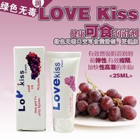 Wholesale Male Intercourse - Wholesale-Grape flavored edible lubricants vaginal intercourse male female oral sex lubricant gay anal sex lubricant