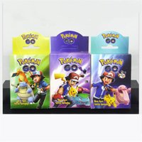 Wholesale Pocket Listings - Kids Toys Pokeball Anime Cards Top Loaded List Pokemoning EX Card Holder Pocket Monster Box Collection Card Toy