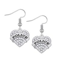 Wholesale Three Heart Dangle Earrings - Fashion Simple Design Crystal Heart Drop Earrings Three color Fashion Dangle Earrings For Women Accessories