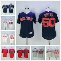 Wholesale Mookie Betts Jersey Boston Red Sox baseball Jerseys Good Quality Coolbase Flexbase Player Jersey Red Blue White Grey
