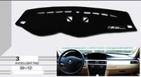 Wholesale Anti Glare panel embroidery Instrument desk Mat For Bmw old series E90 I I I