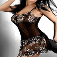 Wholesale Leopard Corset Skirt - Wholesale- XL XXL XXXL Plus Size Women Black Lace Print Sexy Cute Lingerie Corset Underwear Skirts Free Shipping