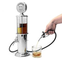 Wholesale Double Pump - Single   Double Gun Barware Mini Beer Pourer Water Liquid Drink Dispenser Wine Pump Dispenser Machine with Retail Package 0702240