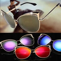 Wholesale Over Sized Sunglasses - High Quality Sunglasses 2017 New Style Retro Women's Fashion Over sized Sunglasses men Fashion Sunglasses UV400