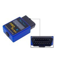 Wholesale Code Vgate Bluetooth - Car Auto Diagnostic Scanner ELM327 MINI V2.1 Vgate OBD OBD2 Scan ELM 327 Bluetooth Works On Android Symbian Windows