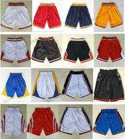 Wholesale Browning Sweatpants - Basketball Shorts Men's Shorts New Breathable Sweatpants Teams Classic Sportswear Basketball embroidered Logo Basketball Pant, Free Shipping