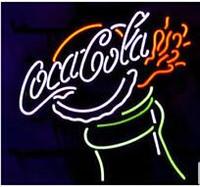 Wholesale outdoor advertising lights resale online - Drink Bottle Neon Sign Handmade Custom Real Glass Tube Store Shop Bar Pub Outdoor Display Advertising Neon Signs Light quot X14 quot