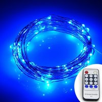 Wholesale Oval Led Lighting 12v - LED Starry String Lights,100 Led Firefly Lights 33ft Copper Wire 8 Mode with Remote Control for Christmas Party, Outdoor Patio, Deck