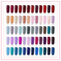 farklı renklerdeki çiviler toptan satış-2017 Yeni varış Mei-charm 5 stil renkler serisi tırnak jel UV JEL Lehçe 15 ML tırnak jel DHL ücretsiz 60 farklı renkler
