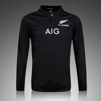 Wholesale Sublimated Shorts - long sleeve black rugby jersey correct version wholesale in stock Sublimate Camisetas factory wholesale price new zealand maori