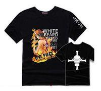 Wholesale Japanese Women Cotton Tops - One Piece T Shirt Men Women 100% Cotton T-Shirt Summer Fashion Japanese Anime Clothing Short Sleeve Tees Tops Hip Hop Tee Shirts Couple