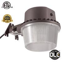 Wholesale Led Brush - DLC ETL-listed 35W 3800LM LED Street Lighting Outdoor Barn Light LED Area Light Dusk to Dawn Photocell LED Security Light Yard Flood Lights