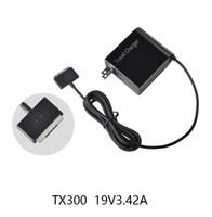 adaptador para tablet asus al por mayor-Al por mayor-65W 19V 3.42A AC portátil Fuente de alimentación Adaptador de enchufe del cable del cargador de pared para ASUS Transformer Book TX300 TX300K TX300CA Tablet