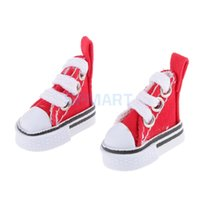 Wholesale blythe dolls - Pair Canvas Shoes for 1 6 Blythe Pulip Momoko Dolls Accessories