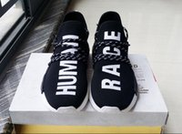 Wholesale Pw Blue - Human Race Pharrell Williams X NMD Boost Trainning Shoes Nmd Human Race PW ZX333 standard NMDs White Black Red Green Blue Grey Yellow
