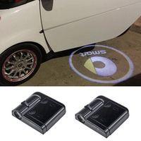 ingrosso luci logo honda-Ghost Shadow Light Welcome Proiettore laser Luci LED Car Logo per Opel Citroen Ford Chevrolet Honda Toyota Mitsubishi Mazda Suzuki Smart